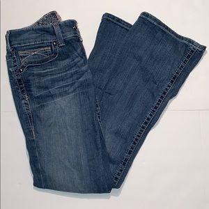 Ariat Women's Rainstorm Boot Cut Riding Jeans 27 S